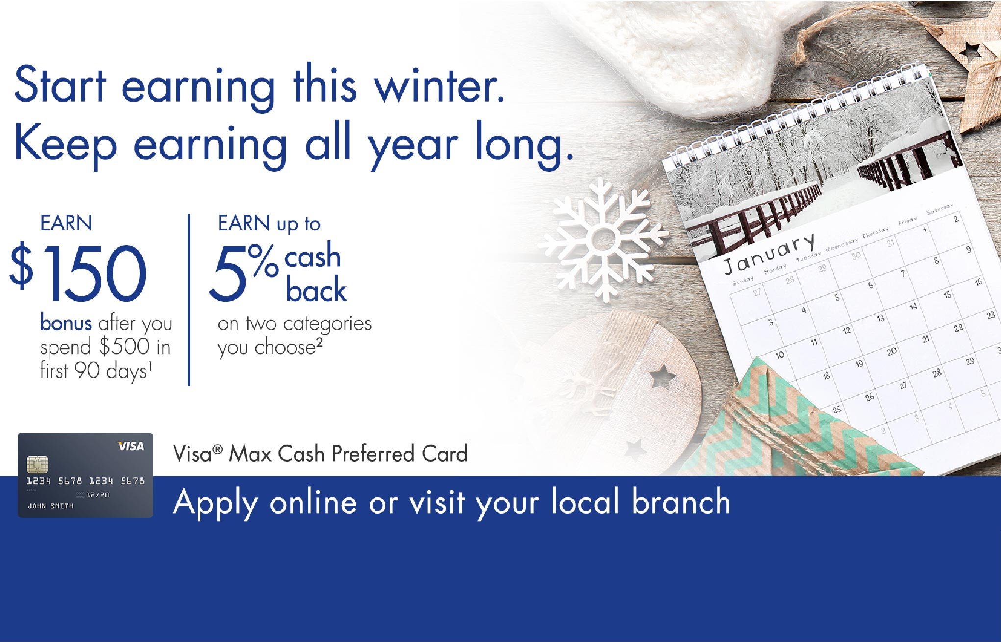 Credit Card Offer Winter 2021