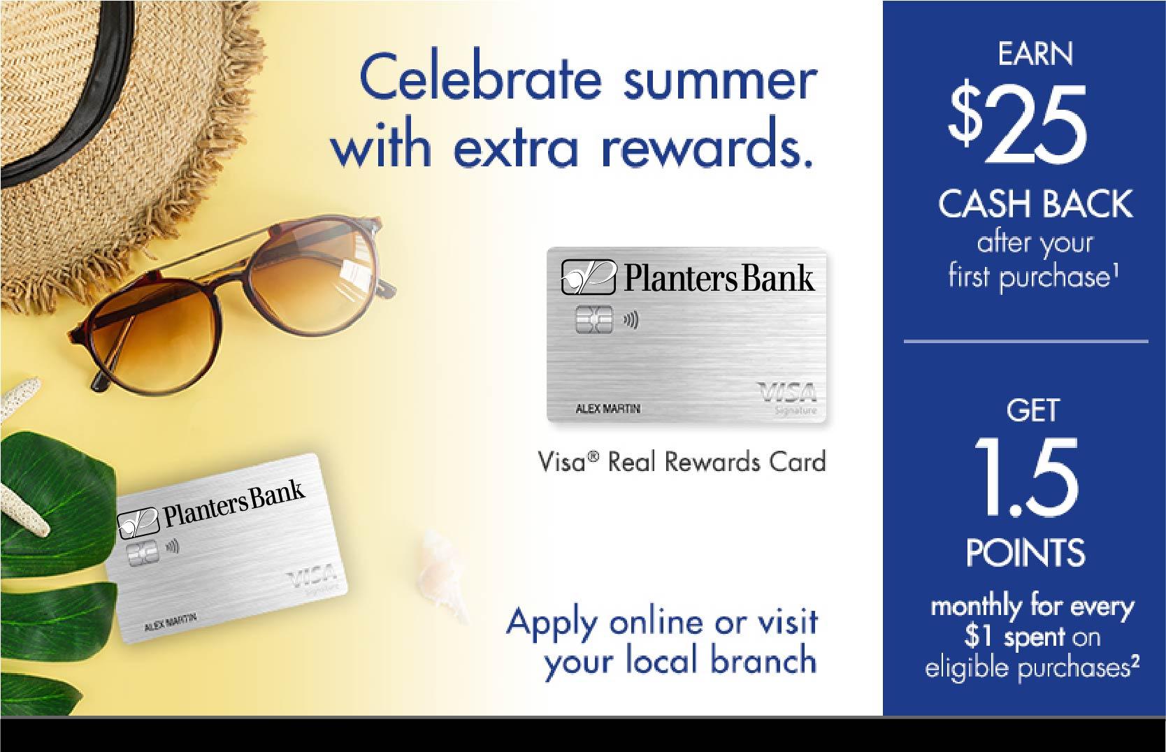 Visa Credit Card offer summer 2021